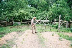 1850 Pioneer Farm garden